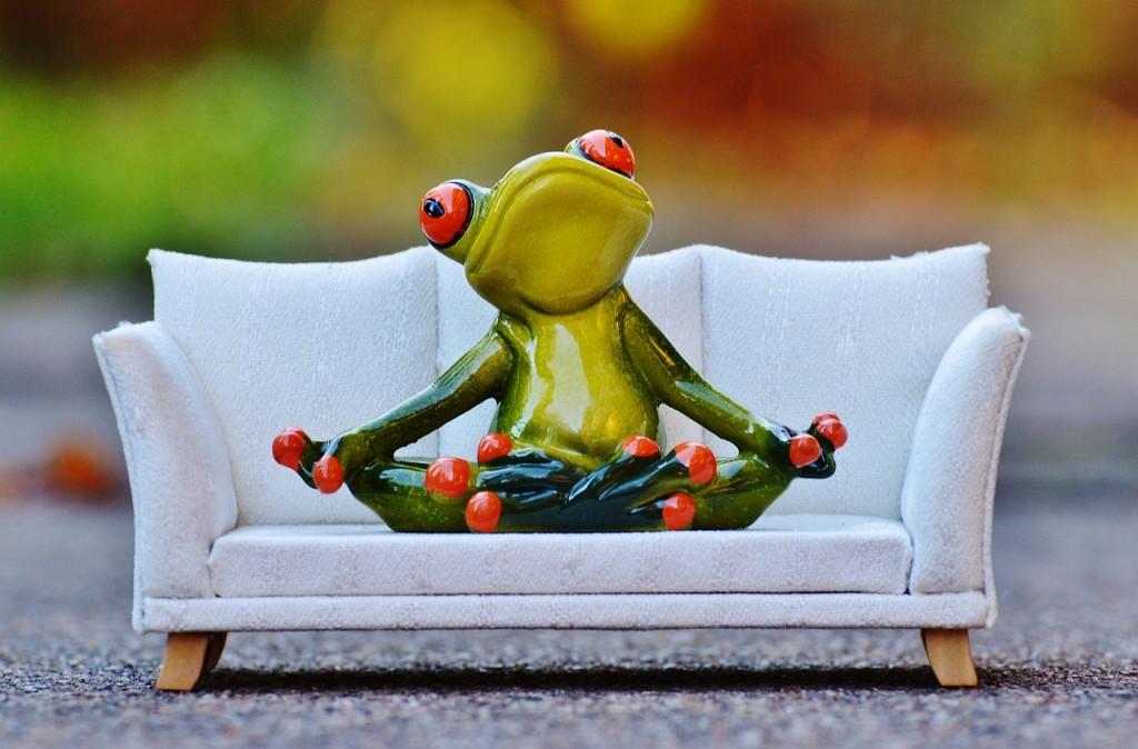 Entspannung genauso wichtig wie Bewegung